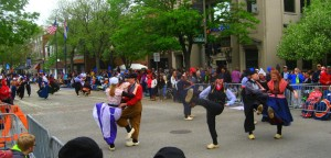 Hiking at the dunes and the Holland Tulip Time Festival make a great combo trip if you're into Dutch dancing.
